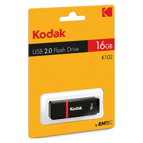 Image sur Clé USB - 16GB - Noir