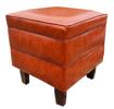 Image sur Canapé + Sofa luxueux en cuir norvégien - Marron