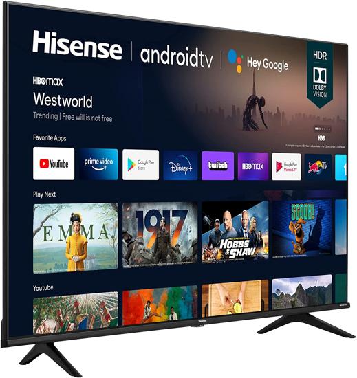Image sur TV Smart 65 Pouces 4K Ultra HD - 65A6G - Noir - 12Mois