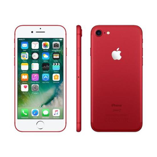 Image sur Apple iPhone 7 - 4.7″ - 32 Go / 2 Go RAM - 2900mAh - iOS 10 - Rouge - 6 mois garanti