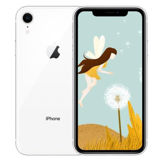 "Image sur Apple iPhone Xr - 6,1"" - 64Go ROM / 3 Go de RAM - iOS 12 - 2942 mAh - Blanc - 06 Mois de garantie"