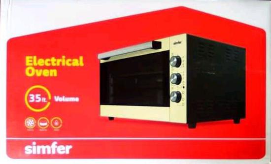 Four électrique SIMFER M4503SN22I - 35 litres  - 03 mois garantis