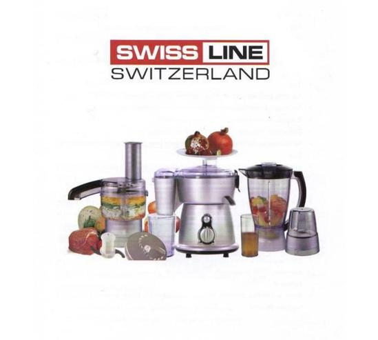 Image sur Robot multifonctions de luxe 7 en 1 SWISS LINE- 03 mois