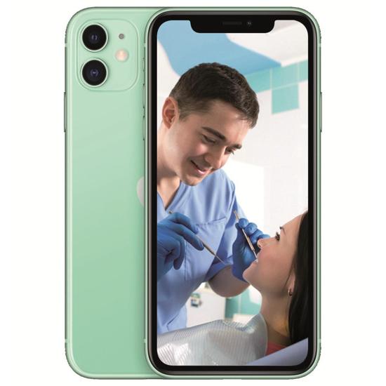 "Image sur Apple Iphone 11 - smartphone - 6.1"" - 64Go/ 4Go -12Mpx - Garantie 06 Mois"