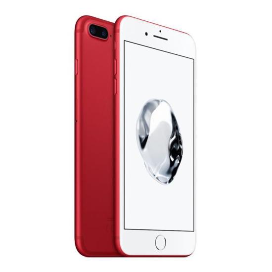 Image sur iPhone 7 Plus - 128Go/ 3 Go HDD - 12 MP/ 7MP - Rouge - 06 mois de garantie