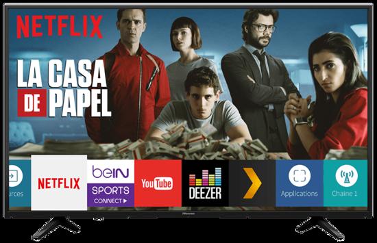 Image sur Smart TV Numérique Hisense 58 Pouces - Full HD - noir - 12 mois garantie