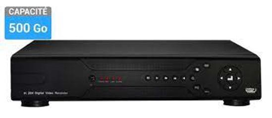 """Image sur DVR 8"""" 500G"""
