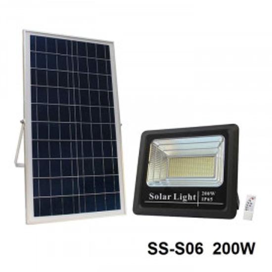 Image sur projecteur solaire 200w