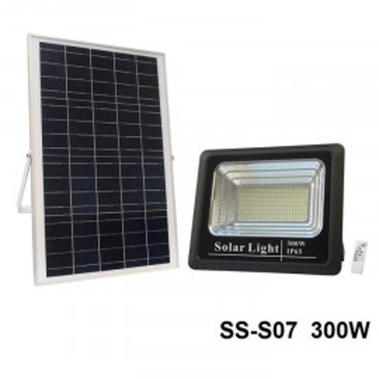Image sur projecteur solaire 300w