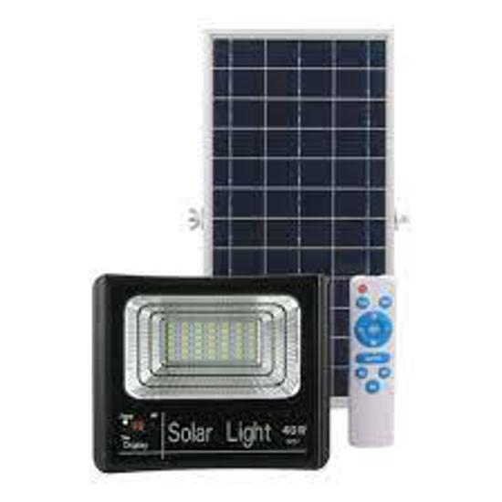 Image sur projecteur solaire 40W