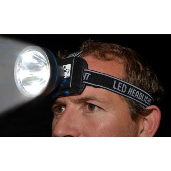 Image sur Lampe frontale led et rechargeable