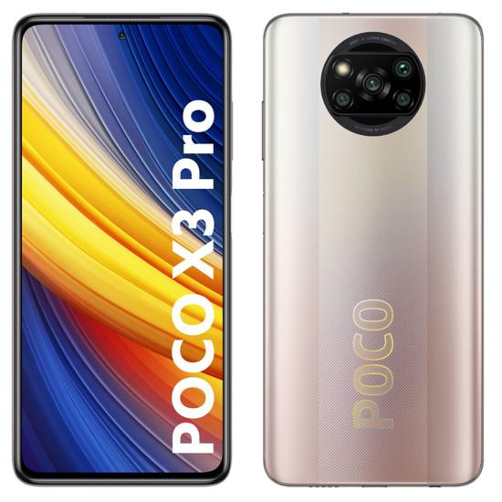 Image sur Xiaomi Poco X3 Pro - 6.7 pouces - 256Go/8Go Ram - 48+8+2+2MP 4K/20MP - 5160mAh - 12 mois de garantie