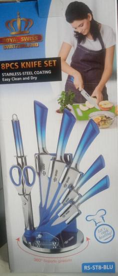 Image sur Jeu de couteaux 8 pièces ROYAL SWISS- 03 mois