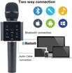 Image sur Microphone Q7 Bluetooth Micro Sans Fil Portable – Noir
