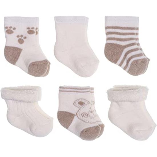 Image sur Set 06 paires de chaussettes bébé