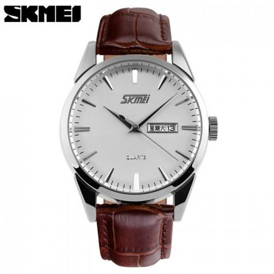Image sur Montre Mixte Bracelet Simili Cuir - SKMEI