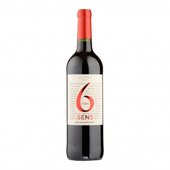 Image sur Vin 6eme sens rouge 13,5% - 75cl
