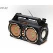 Image sur Woofer bluetooth boombox portable sans fil et rechargeable avec double bass