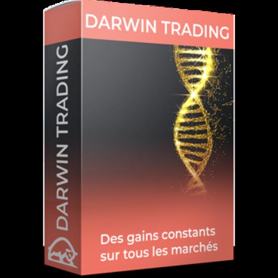 Image sur DVD vidéo Formation Sylvain March - Darwin Trading Masterclass (2021)