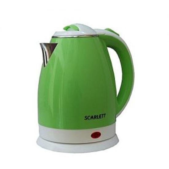 Image sur Bouilloire Électrique – 2000 W – 2L – Scarlett – Vert Et Blanc
