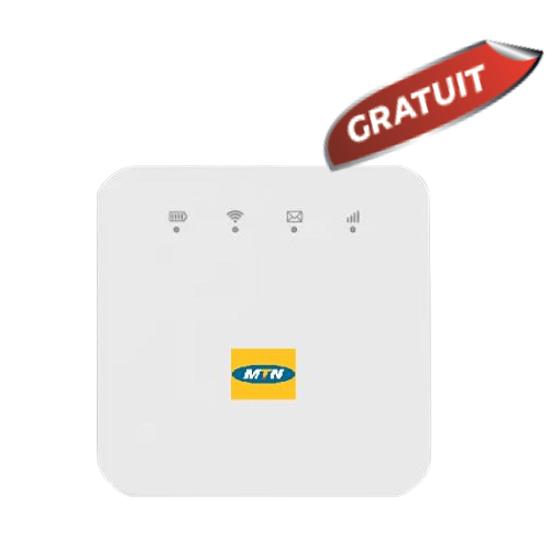 Image sur Forfait MTN - 60GB(1GB/Jour) valides pour 2 mois + Modem MTN Mifi ZTE gratuit