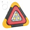 Image sur triangle de signalisation routière à éclairage led cinq modes d'éclairage + power Bank intégré
