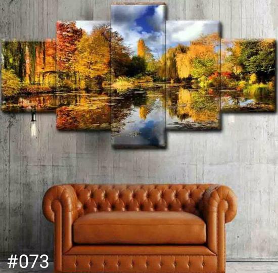 Image sur Tableau décoration d'intérieur - Nature Miroir