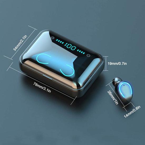 Image sur Ecouteur Bluetooth BHT-F9-5 Avec Power Bank Intégrées de 2500mha