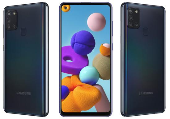 Image sur Samsung A21s Européen - 6,5''- 64GB + 4GB RAM - 13MP/48 MP - 4G - Noir et Blanc  - Garantie 24 mois
