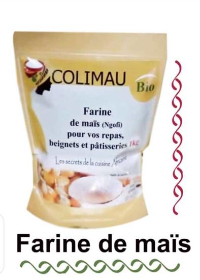 Image sur farine de Mais blanc - colimau bio - 1kg* 10