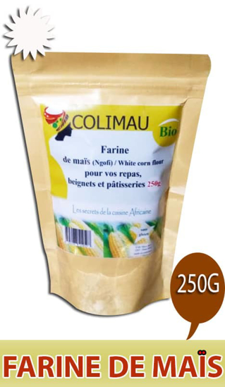 Image sur farine de Mais blanc - colimau bio - 250g*20