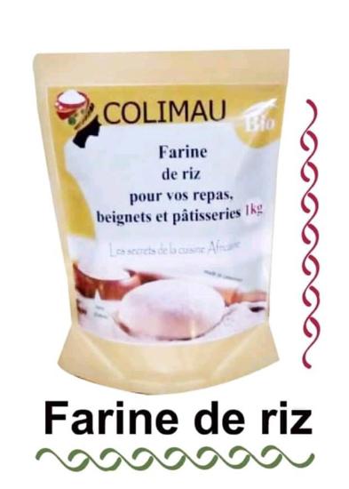 Image sur farine de riz blanc - colimau bio - 1kg *1