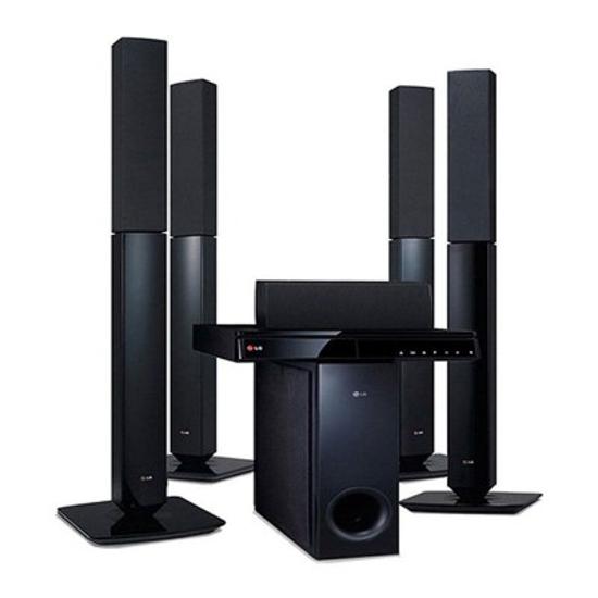 Image sur HOME CINÉMA LG LHD657M - 1000W