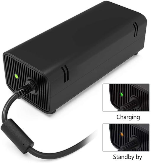 Image sur Alimentation Xbox 360 Slim, AC Adaptateur Secteur Brique Bloc Chargeur pour Xbox 360 Slim Console
