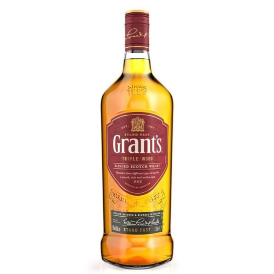Whisky Grant's Triple wood - 6 ans -iziway Cameroun