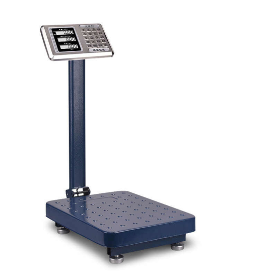 Image sur échelle de pesage de plate-forme de charge nominale 100kg