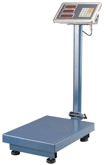 Image sur échelle de pesage de plate-forme de charge nominale 600kg