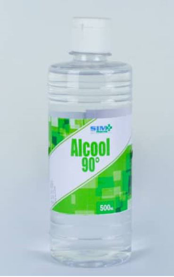 Image sur ALCOOL 90 - SIMPHARMA - Carton de 250ml*48