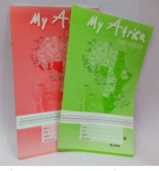 Image sur Cahier Anglophone- SAFCA - MY AFRICA  - 60 Leaves PLAIN LINE