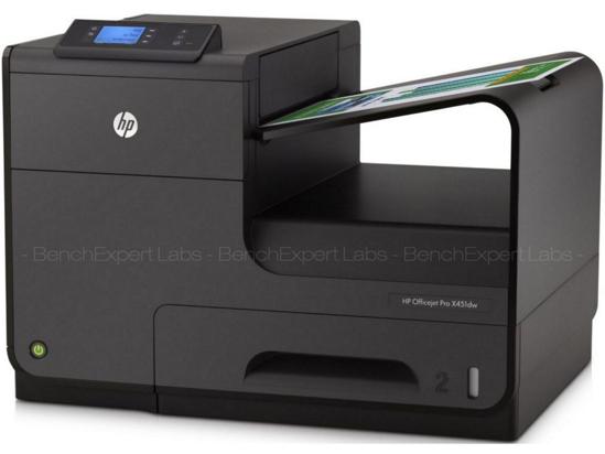 Image sur Imprimante à jet d'encre HP Officejet Pro X451dw - 792 MHz - Noir