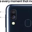 Image sur Samsung Galaxy A40 : europeen -neuf- 64 GB +4GB-camera 25mp/16mp - batterie 3100 mah - couleur bleu-garantie 24 mois
