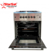 Image sur Cuisinière StarSat vitré 4 Foyers - INOX 60×60  Automatique + 01Bouilloire OFFERTE