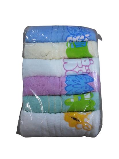 Image sur serviettes layettes bebe