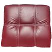 Image sur Salon Chesterfield - en cuir - 07places - bordeaux