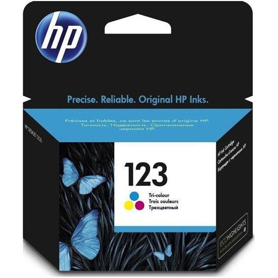 Image sur HP 123 cartouche d'encre trois couleurs