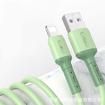 Long Cable Pt Kevin pour une charge rapide et efficace 2m vert pour téléphone IPhone vous garanti une charge complète et vraie de votre batterie en optimisant celle-ci