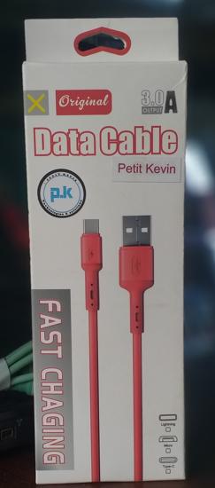 Long Cable Pt Kevin pour une charge rapide et efficace: green color