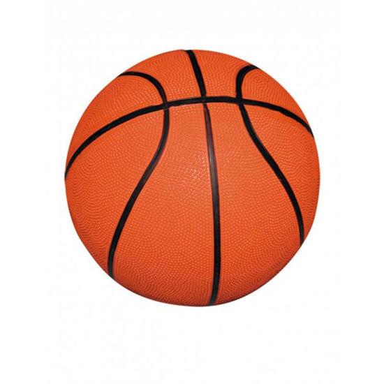 Image sur Ballon De Basketball - Orange Et Noir