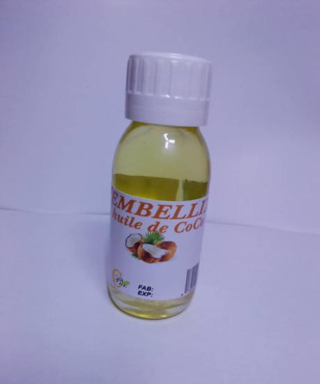 Image sur Huile de coco bio - EMBELLIX - 60ml