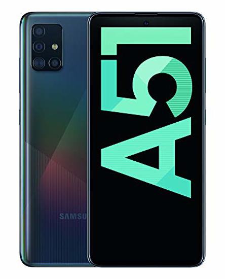 "Image sur SAMSUNG GALAXY A51 Dual SIM - 6.5"" - 128Go HDD - 6Go RAM - 48+12+5+5MP - Noir - 24 Mois de Garantie"